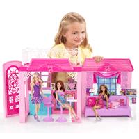 Barbie x7945 maison de poup e maison de vacances jeux et jo - Barbie et sa maison de reve ...