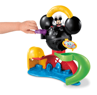 fisher price y2311 figurine la maison de mickey jeux et jouets. Black Bedroom Furniture Sets. Home Design Ideas