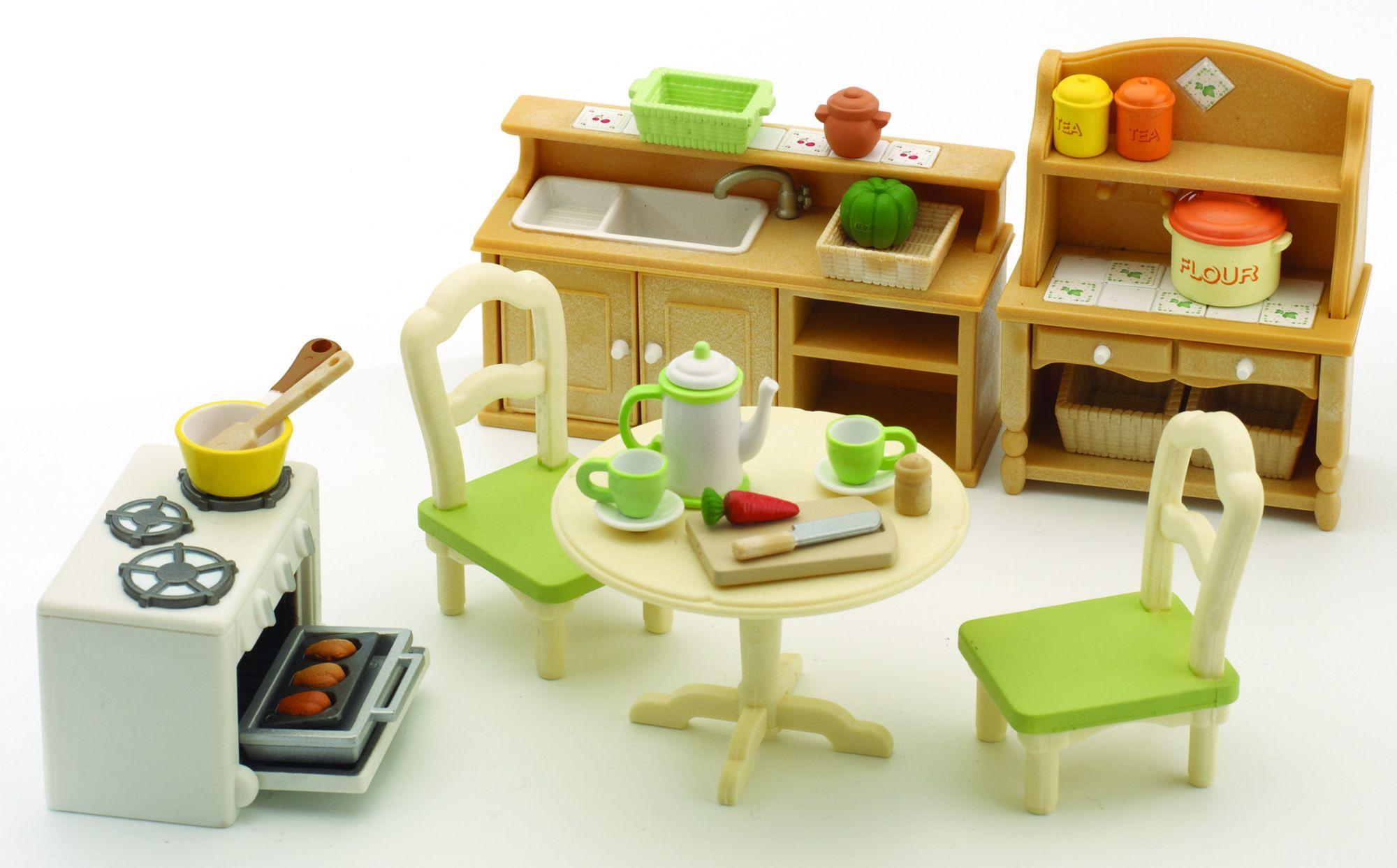 Sylvanian families 2951 poup es et accessoires set for Accessoir de cuisine