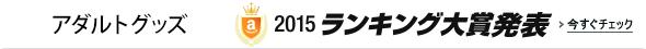 アダルトグッズ2015ランキング大賞発表