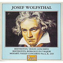 ヴォルフシュタール演奏モーツァルトVn協奏曲第5番&べートーヴェンVn協奏曲他 の商品写真