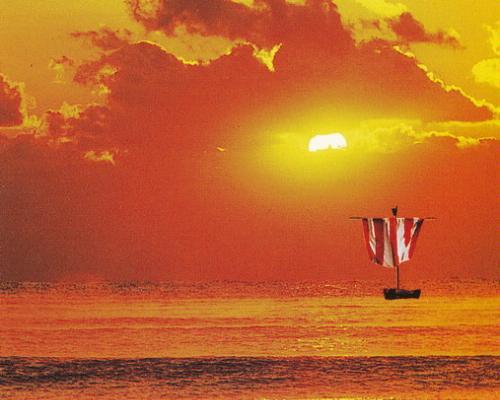 ジブラルタル号の出帆(たびだち)の画像