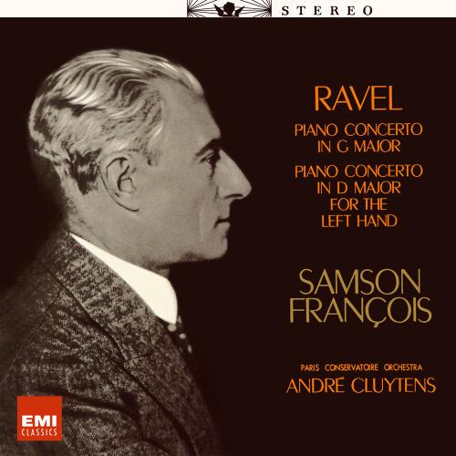 サンソン・フランソワ(P) アンドレ・クリュイタンス指揮/パリ音楽院管弦楽団 ラヴェル:ピアノ協奏曲集のAmazonの商品頁を開く
