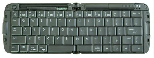 リュウド 折りたたみワイヤレスキーボード Rboard for Keitai (Bluetooth HID/英語配列) RBK-2000BT II