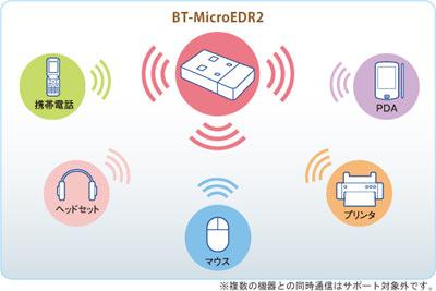 BT-MicroEDR2構築図