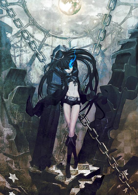 ブラック★ロックシューター (1/8スケールPVC塗装済み完成品)