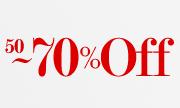 50%-75%OFF