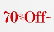 70%OFF-