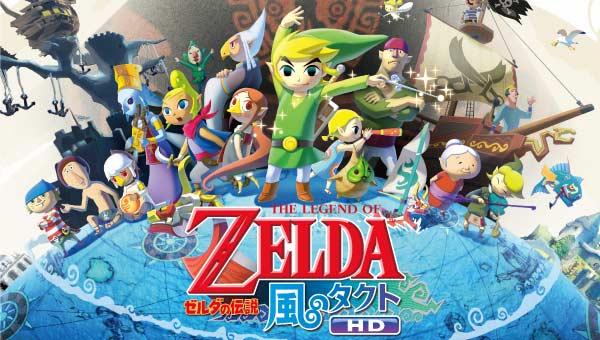 of Zelda The Wind Waker HD Nintendo Wii U 2013 Japan Import  eBay