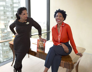Oprah and Ayana Mathis