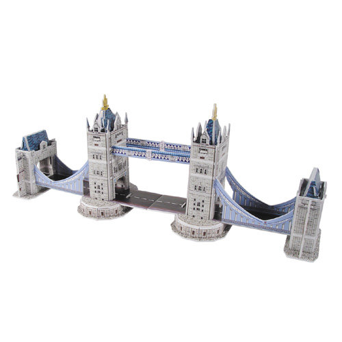 CubicFun乐立方-世界著名建筑-益智启蒙系列-3D拼图-迷你伦敦双子桥
