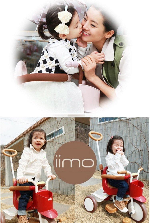 IDES三轮童车IIMO(日本品牌)红色/灰色