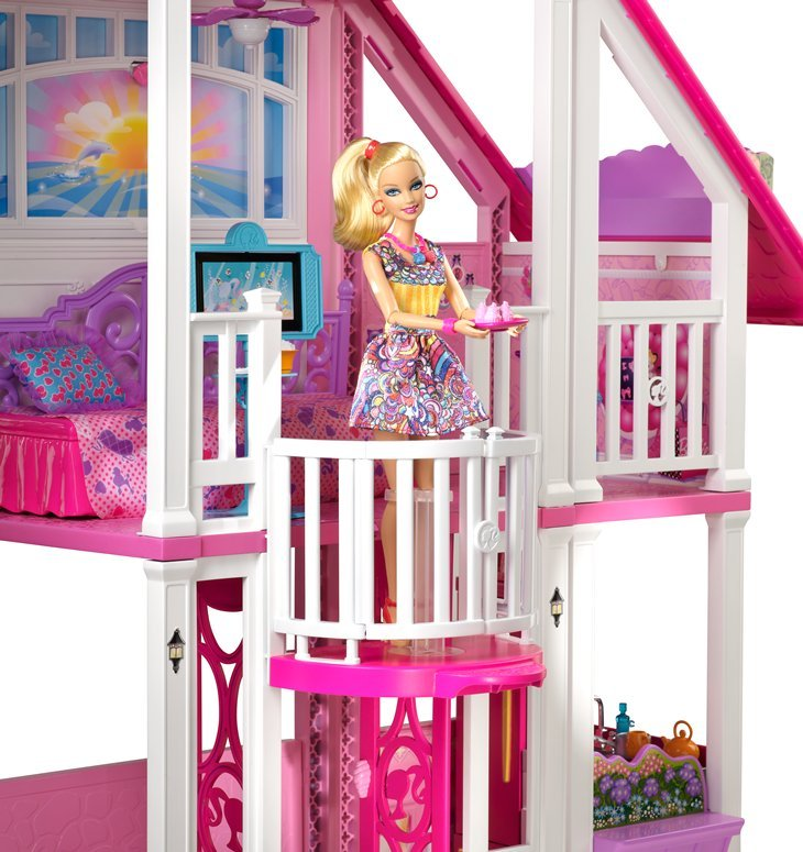 芭比的私人豪华别墅