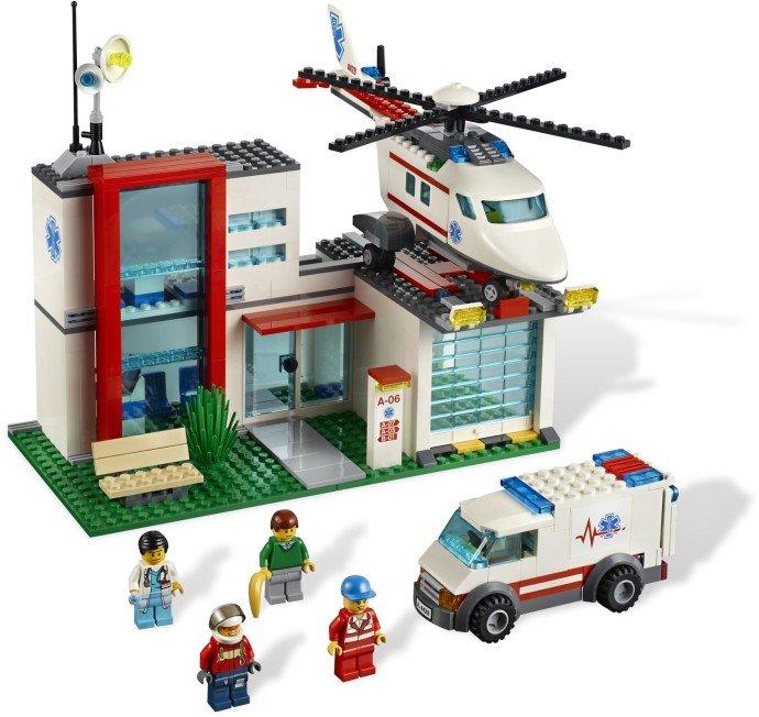 乐高 城市组 直升机营救
