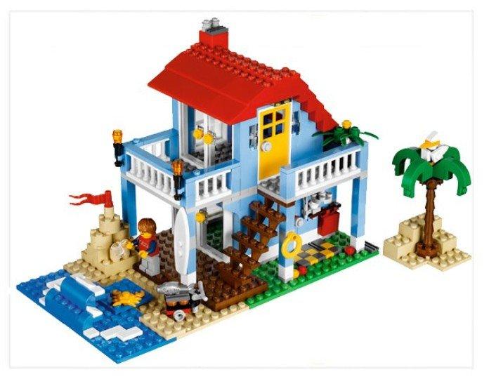 lego 乐高 创意百变组 海滨房屋 7346