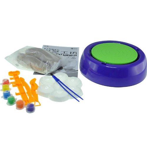 伶俐宝 儿童陶艺机玩具 陶艺工坊 手工制作陶瓷 llb-9474