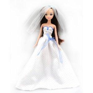 可儿娃娃 时尚类-梦幻婚纱-7066