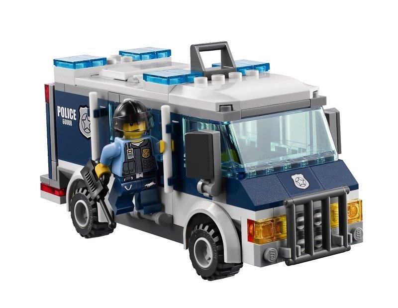 LEGO乐高城市系列博物馆视频60008大盗欣家图片