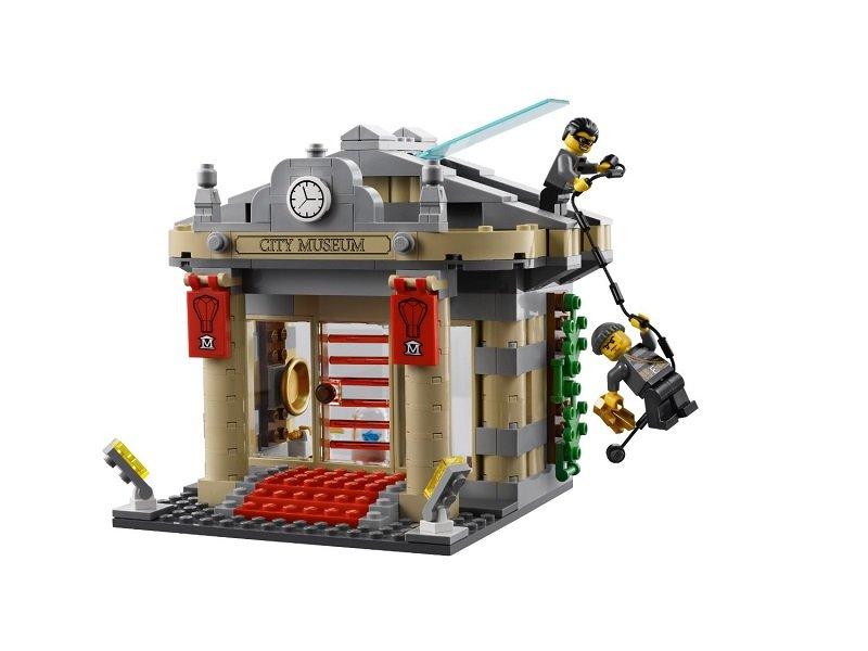 LEGO乐高视频系列博物馆城市60008怨大盗灵图片