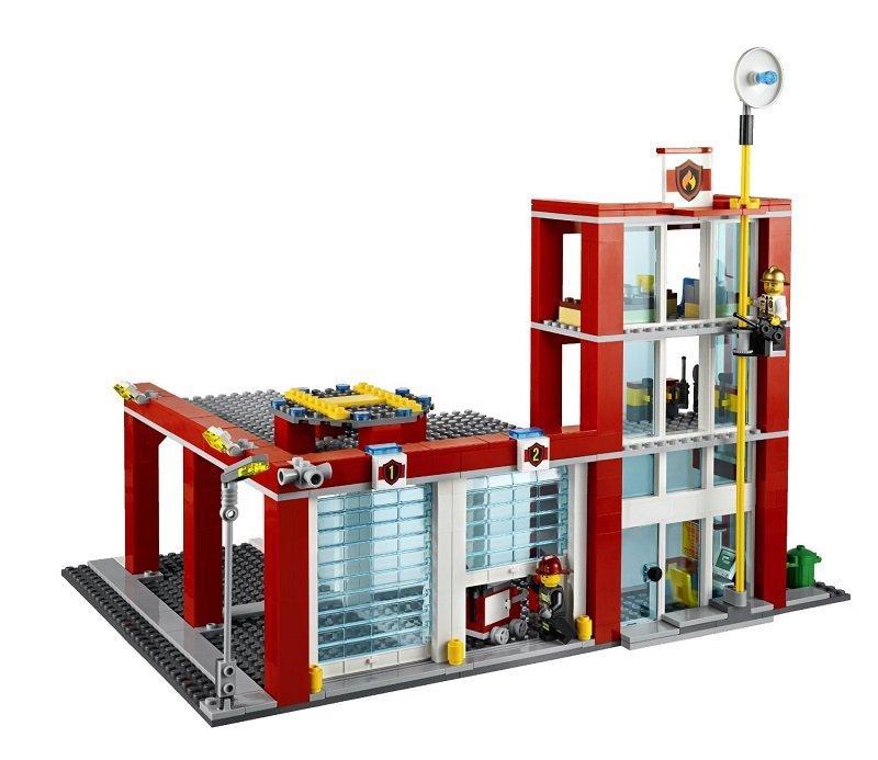 合肥智乐汇商贸--乐高消防总局; 乐高城市组图片