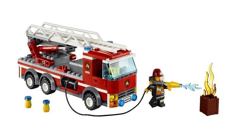 乐高卡车玩具图片