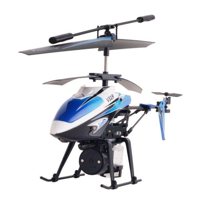 伟力 遥控直升飞机v3193.5通道蓝色水精灵