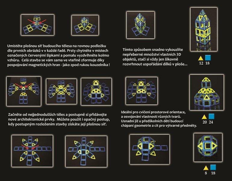 商品介绍 产品材质:ABS亚克力塑胶材料、天然矿物石磁铁 产品特点: 1.安全性:适合2-3岁以上儿童,不会被小朋友误吞,且无毒无味,颜色艳丽 2.益智性:开发拓展儿童思维能力(从平面到3D立体的转变)让小朋友感受神奇的瞬间变换,激发想象力,刺激脑细胞生长。 3.成长性:培养小朋友的耐性,也能培养宝宝的动手能力促进手指关节灵活性。玩具可以从小玩到大,提高审美情趣。成年人都喜欢玩,爸爸妈妈也可以和小朋友一起玩,增进亲子关系 4.