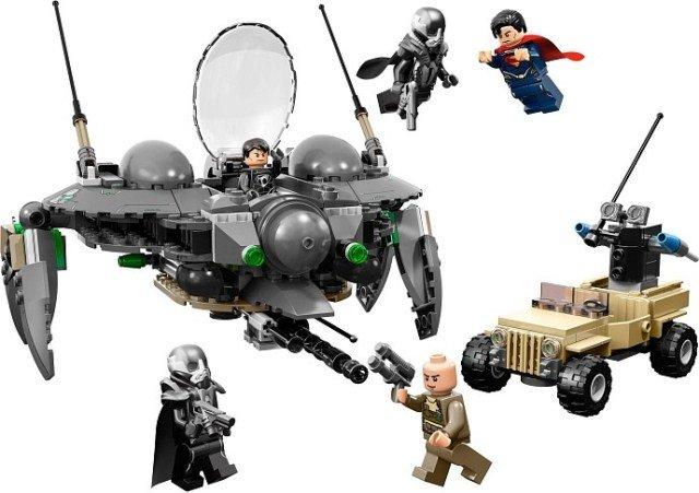 LEGO 乐高 超级英雄系列 超人 Superman 之决战小村庄 76003图片