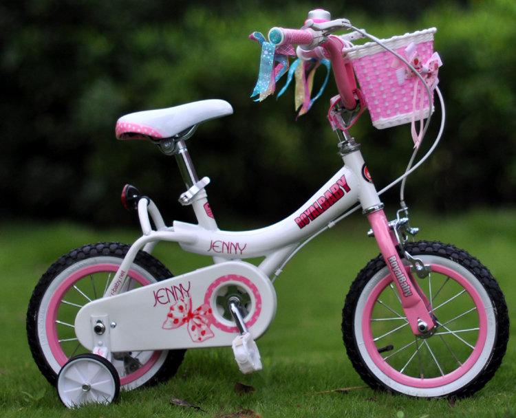 优贝儿童自行车珍妮公主12寸14寸16寸18寸女孩童车