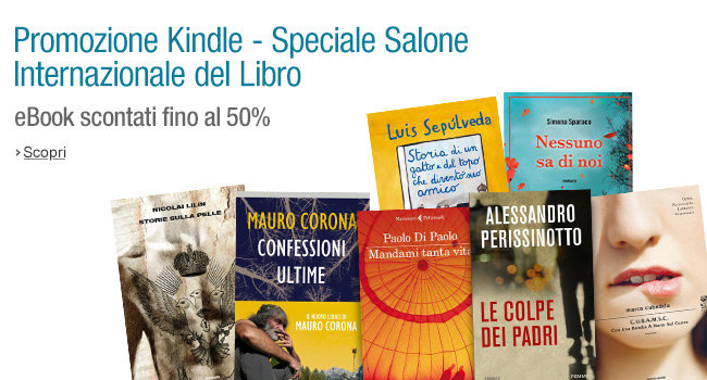 Promozione Amazon: eBook scontati fino al 50%