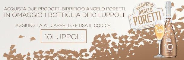 Questa settimana gusta Poretti 10 Luppoli