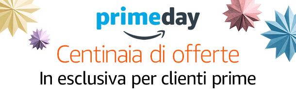 Scopri tutte le offerte Prime Day, seguici dal 5 al 12 Luglio