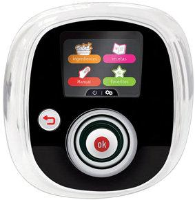 moulinex cookeo CE7011 - menu con pantalla digital interactiva