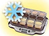 robot de postres tefal multi delices YG6548 - refrigerar y listo para servir