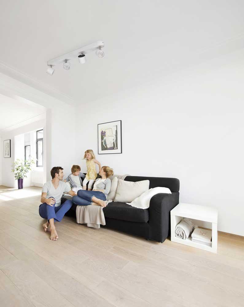 Philips myliving star foco led color blanco - Focos para salon ...