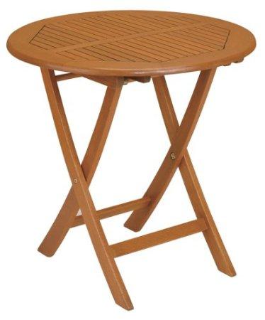 Strathwood Folding Hardwood Bistro Table