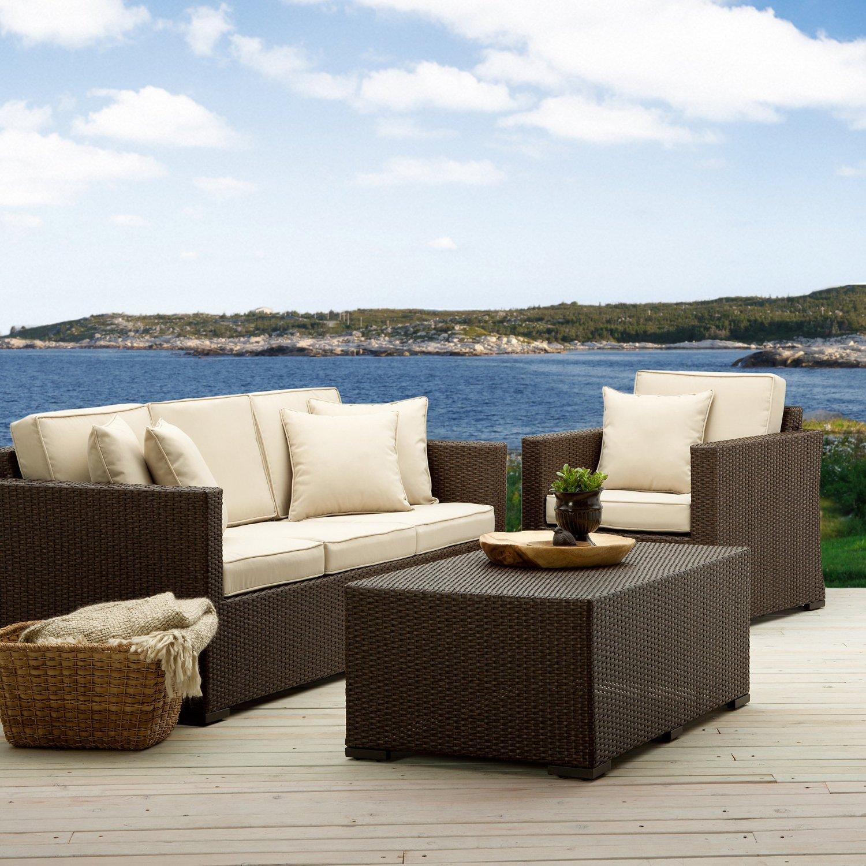 strathwood griffen fauteuil en r sine r sine tress e r sistant aux intemp ries marron. Black Bedroom Furniture Sets. Home Design Ideas