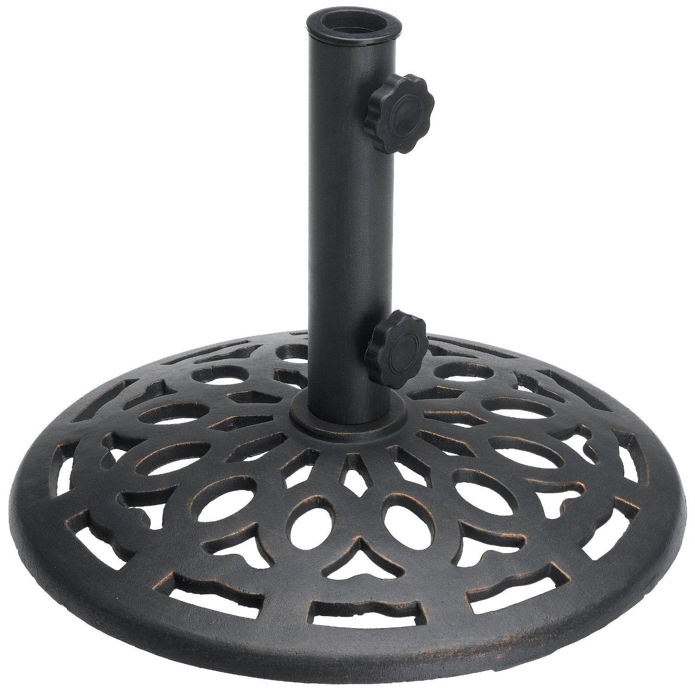 Base de hierro fundido para sombrilla - Base para sombrilla ...