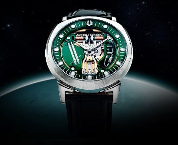 bab4b65ba 1960: The Bulova Accutron Limited Edition Space view 214 was released. A  handmade replica of the original Accutron Calibre 214, the timepiece honors  the ...