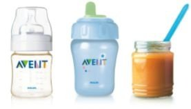Fits all Avent Bottles, Magic Cups and food jars