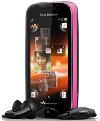 Style your full-touch Walkman music phone