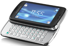 Keyboard phone for faster chatting and browsing