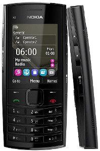 Nokia X2-02 (Dark Silver)