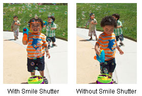 Smile Shutter technology