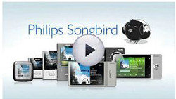 Philips Songbird: One simple program to discover, play, sync