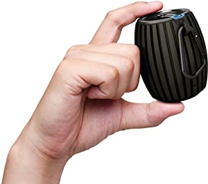 Powerful sound in a compact, stylish design that fits in the palm of your hand.