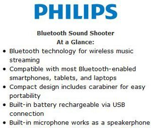 Bluetooth Sound Shooter at a Glance