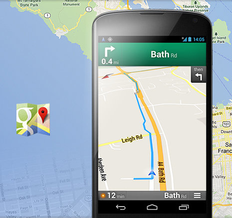 NAVIGATE YOUR WORLD WITH GOOGLE MAPS