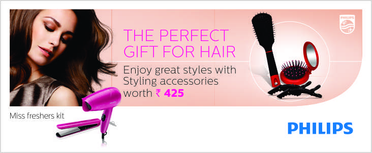 Philips HP 8643 Combo Pack With Free Hair Styling Kit