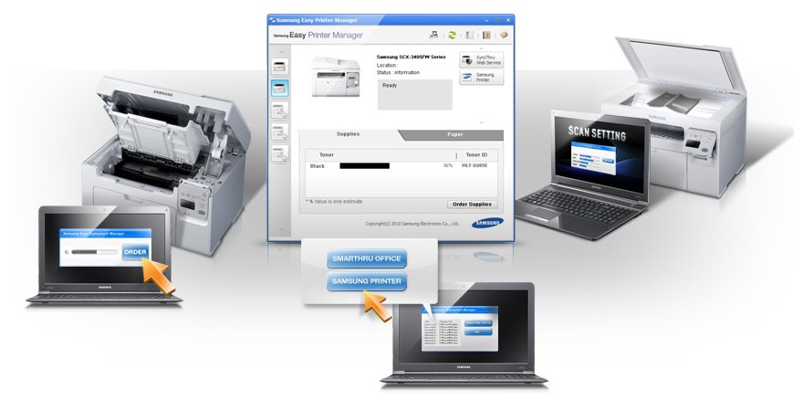 Simple and efficient printer management made easy